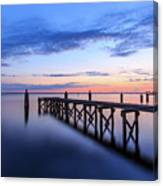 Lake Monroe At Twilight Canvas Print