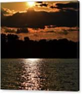 Lake Murray Golden Hour Canvas Print