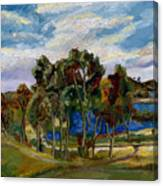Lake Murray Canvas Print