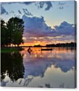 Lake Murray Sc Reflections Canvas Print