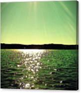 Lake Murray Sun Canvas Print