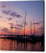 Lake Norman Sunset Canvas Print