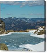 Lake Of Glass Winter Canvas Print