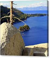 Lake Of The Sky Canvas Print