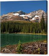 Lake O'hara, Yoho National Park Canvas Print