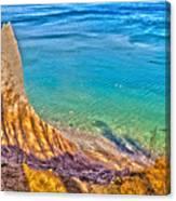 Lake Ontario At Chimney Bluff Canvas Print
