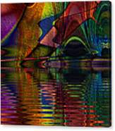 Lake Opalescence Canvas Print