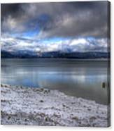Lake Pend D'oreille At 41 South Canvas Print