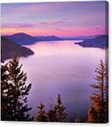 Lake Pend Oreille 2 Canvas Print