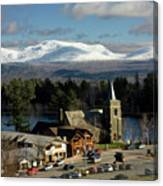 Lake Placid Ny Canvas Print