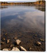 Lake Pomme De Terre In October Canvas Print