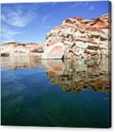 Lake Powell And The Glen Canyon Canvas Print