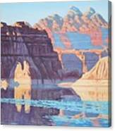 Lake Powell From Shore  Canvas Print