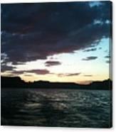 Lake Powell Sunset Canvas Print