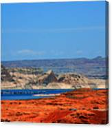 Lake Powell Utah Canvas Print