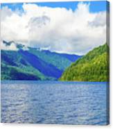 Lake Quinault Washington Canvas Print