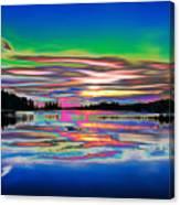 Lake Reflections 3 Canvas Print