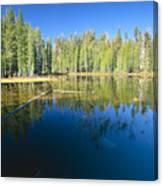 Lake Reflections Yosemite National Park California Canvas Print