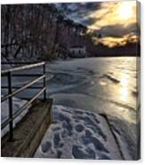 Lake Roland Sunset Canvas Print