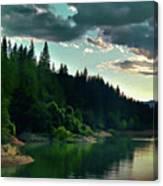 Lake Shasta Painterly Canvas Print