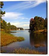 Lake Sinclair Canvas Print