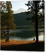 Lake Siskiyou  Canvas Print
