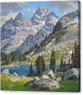 Lake Solitude Canvas Print
