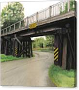 Lake St. Rr Overpass Canvas Print