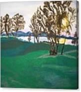 Lake Sullivan Canvas Print