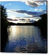 Lake Sunset Canvas Print