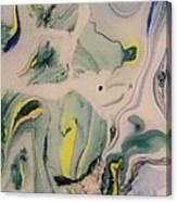 Lake Swirl 2 Canvas Print