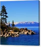 Lake Tahoe At Sand Harbor Canvas Print