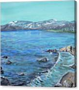 Lake Tahoe From Kings Beach California Canvas Print