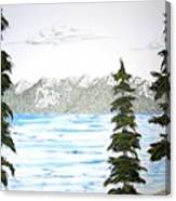 Lake Tahoe In Summer Canvas Print