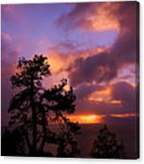 Lake Tahoe Sundown 2 Canvas Print
