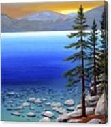 Lake Tahoe Sunrise Canvas Print