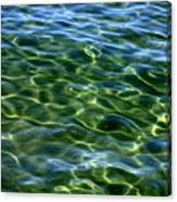 Lake Tahoe Swirls Canvas Print