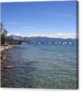 Lake Tahoe Waterscape Canvas Print