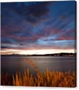 Lake Taupo Sunset Canvas Print