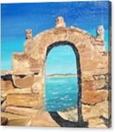 Lake Titicaca Peru Canvas Print