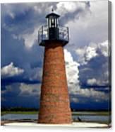 Lake Toho Lighthouse 002  Canvas Print