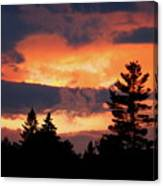 Lake Umbagog National Wildlife Refuge Sunset  Canvas Print