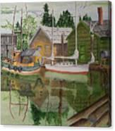 lake Union Seattle Canvas Print