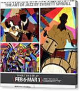 Rhythmic Improvisations - The Art of Jazz Canvas Print