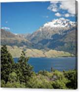 Lake Wanaka New Zealand Iv Canvas Print