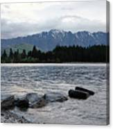 Lake Wanaka,queenstown, New Zealand Canvas Print