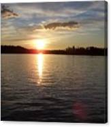 Lake Wilson Sunset Canvas Print