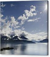 Lake With Islands Canvas Print