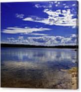Lake Wollumboola Memories  Canvas Print
