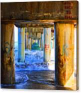 Lake Worth, Florida Pier Canvas Print